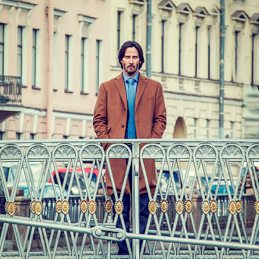 Keanu Reeves u Sankt-Peterburgu