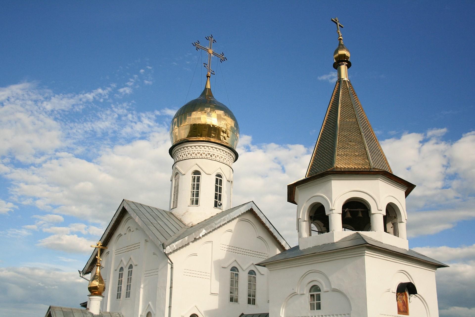 Iglesia del icono de la Virgen del Don en Jolki.