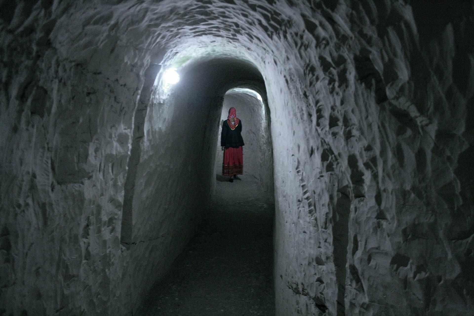 Cuevas del monasterio.