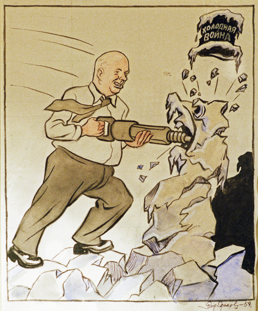 """The miners' way."" Khrushchev is destroying the Cold War"