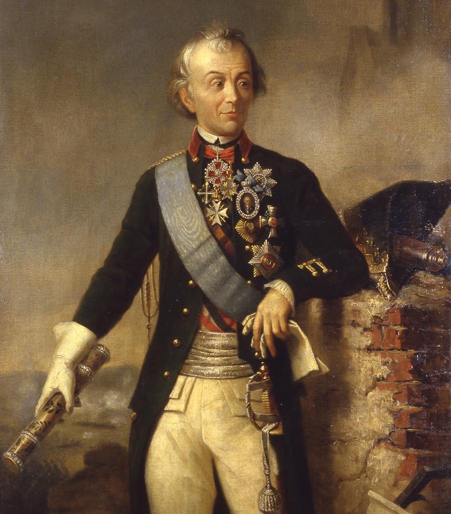 Портрет на генерал Александър Василиевич Суворов (1729–1800)