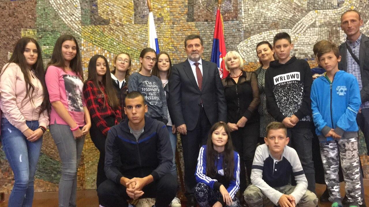Са амбасадором Славенком Терзићем