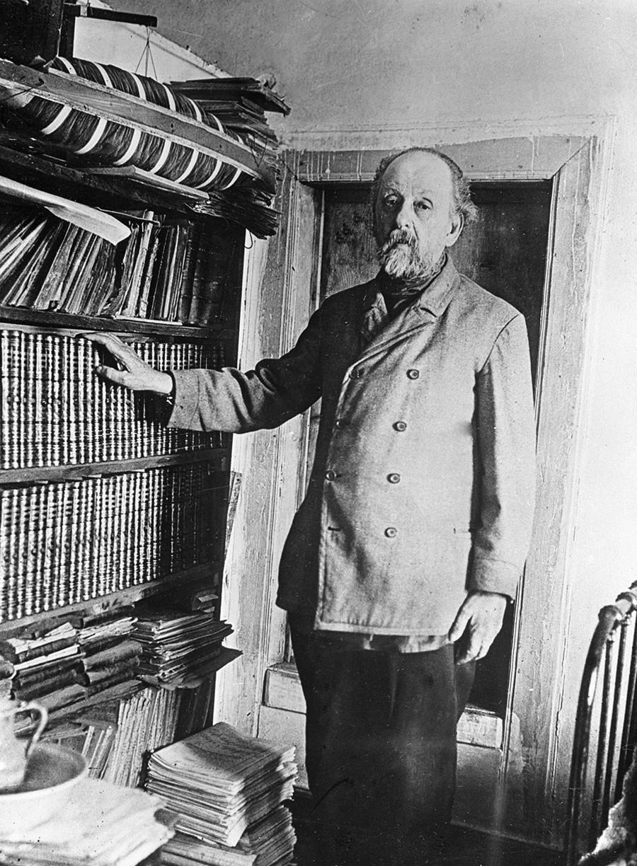 Konstantin Tsiolkovski (1857 - 1935).