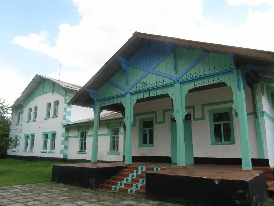 Домът на граф Игнатиев в с. Круподерци