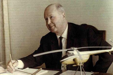 Ingeniero aeronáutico soviético Mijaíl Mil.