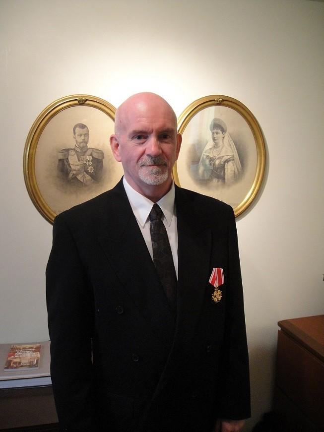 Пол Гилберт, носилац ордена Светог Станислава 3. класе