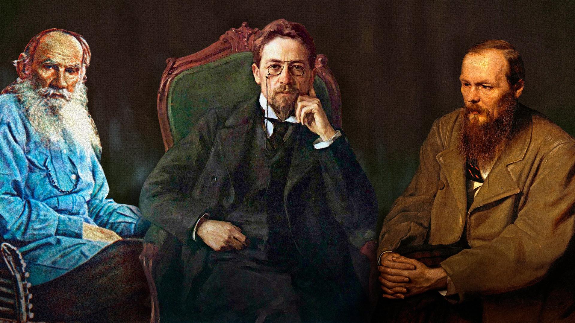 Tre Pensieri Di Chekhov Tolstoj E Dostoevskij Validissimi