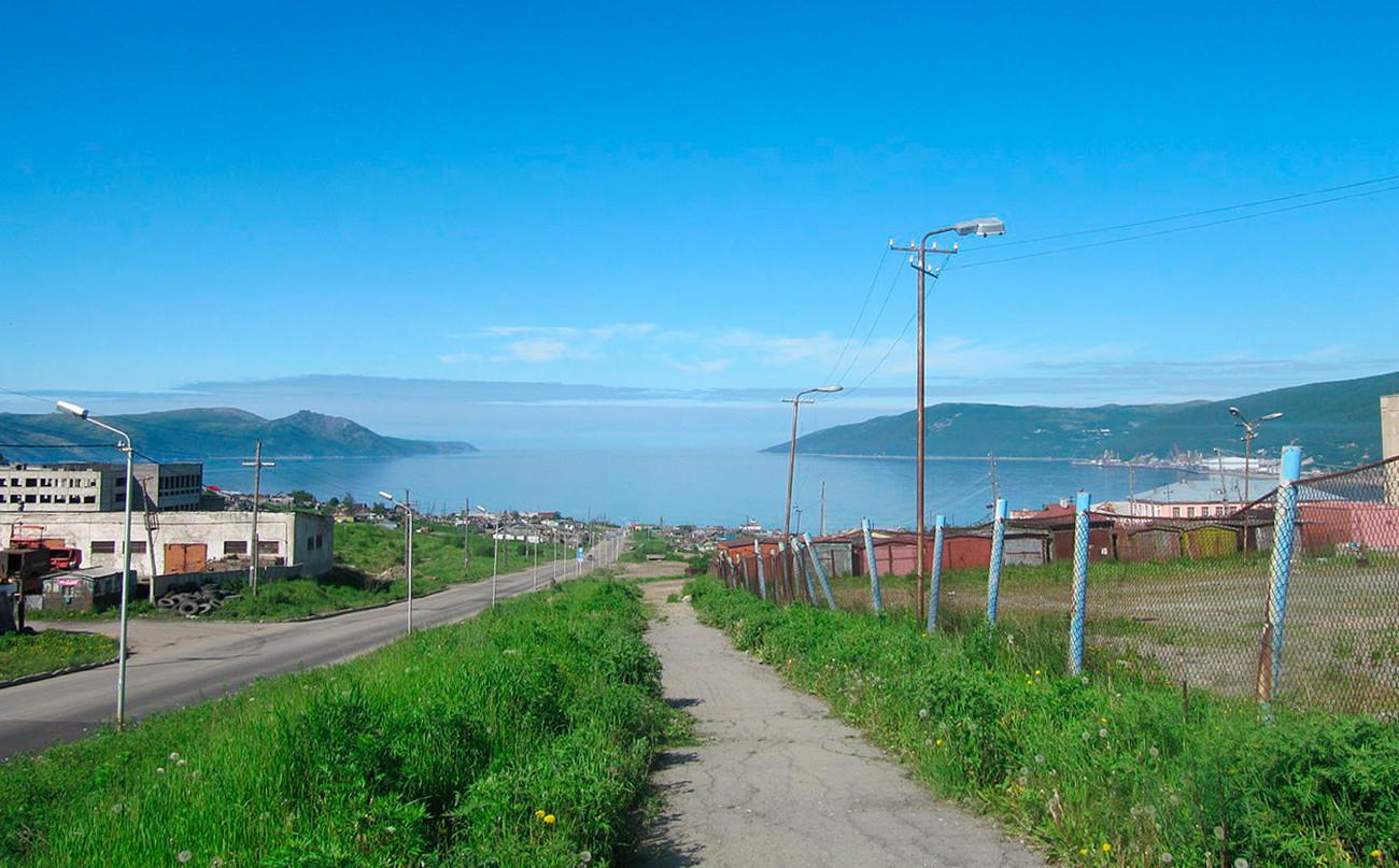 Musim panas di Magadan.