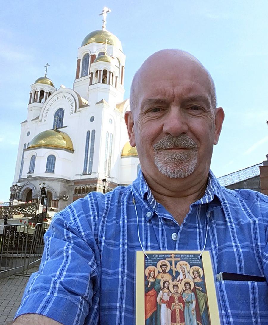 Paul Gilbert a Ekaterinburg
