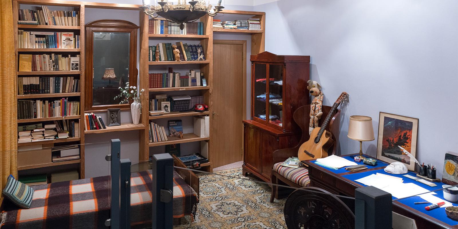 Стаята на Висоцки - Дом-музей на Висоцки на