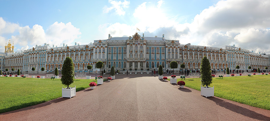 Catherine Palace (outside view)