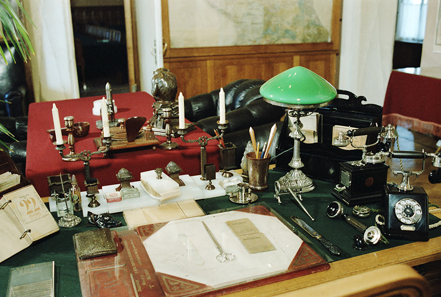 Lenin's Kremlin apartment
