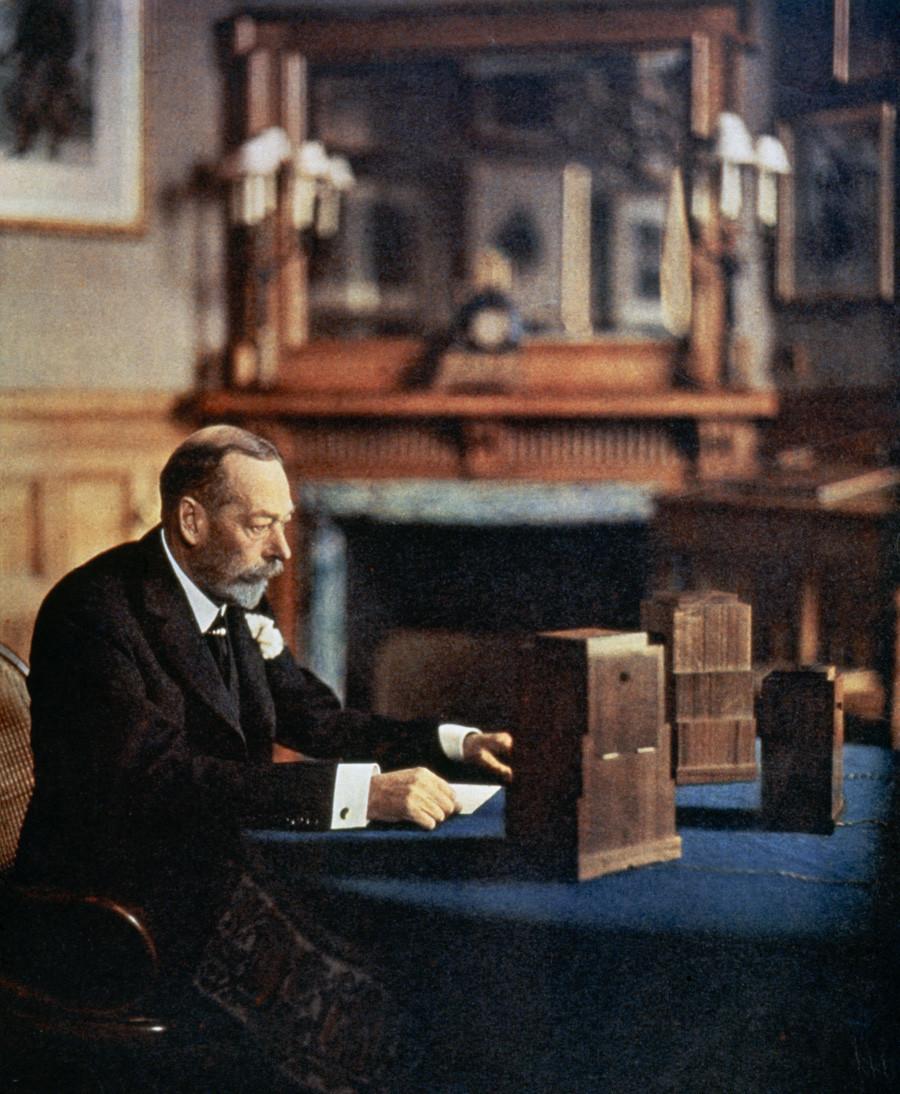 Kralj Velike Britanije Đuro V. (1865.-1936.)
