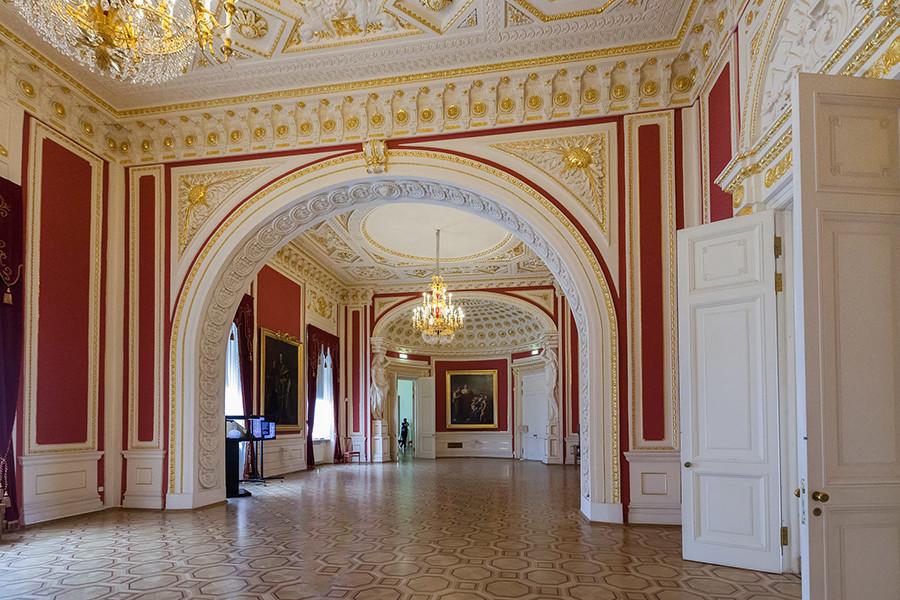ミハイロフスキー城の内装。