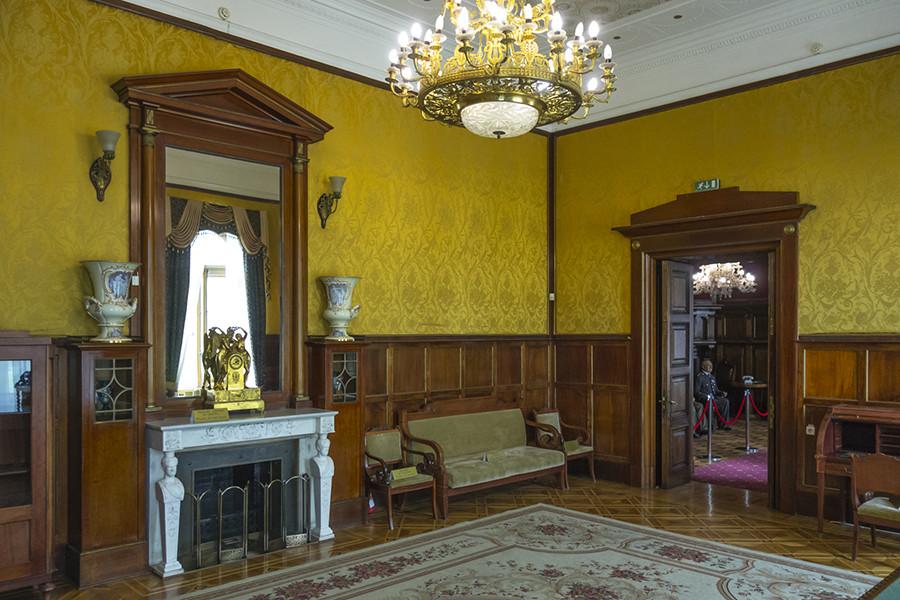 リヴァディア宮殿の内装。