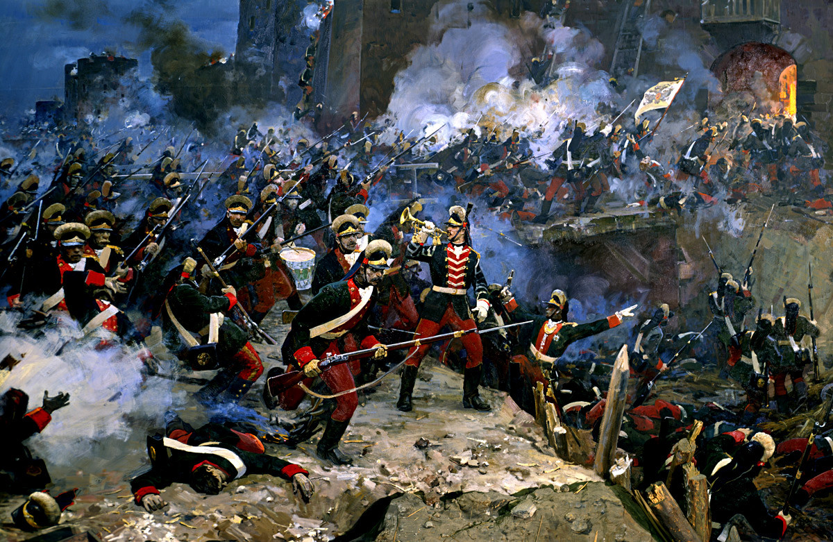 Asalto de la fortaleza Izmaíl.