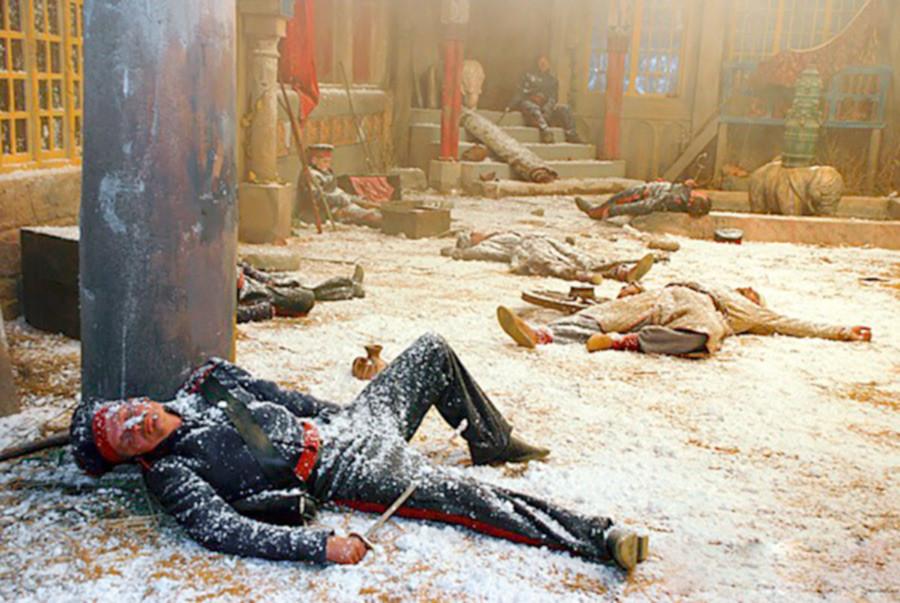 映画「ワジル・ムフタルの死」のシーン。