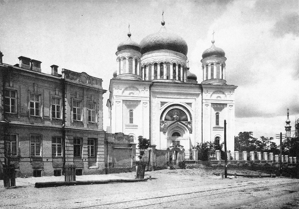 Iglesia de los Diezmos reconstruida, siglo XIX.