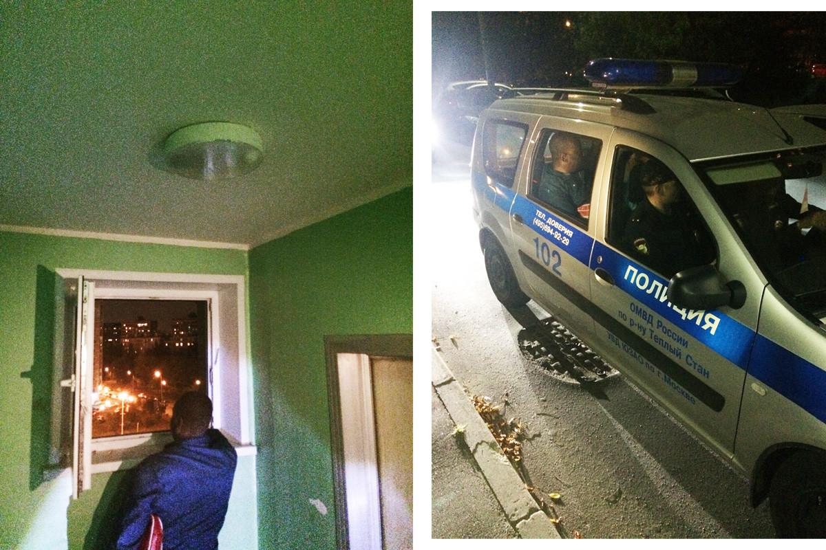 Съседи казват, че той е журналист, който работи за един от московските университети. Оказва се, че той едновременно