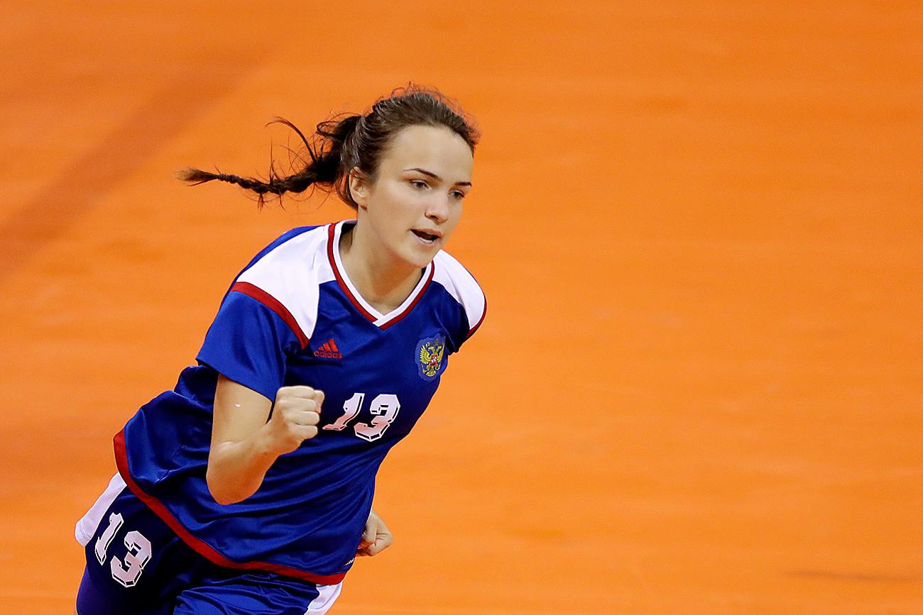 Anna Vyakhireva di Olimpiade Musim Panas 2016 di Rio de Janeiro.