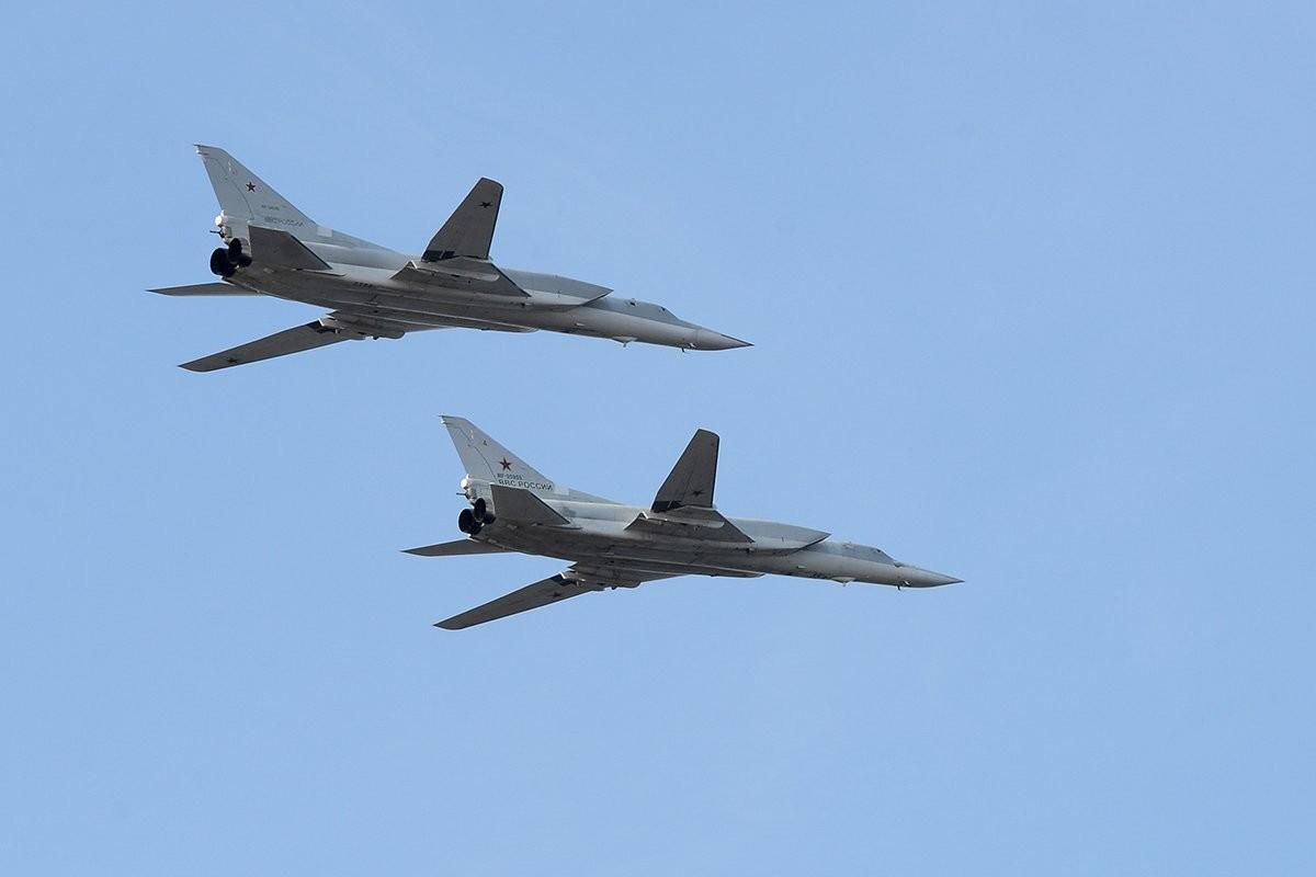 Бомбардери ракетоносци Ту-22М3.