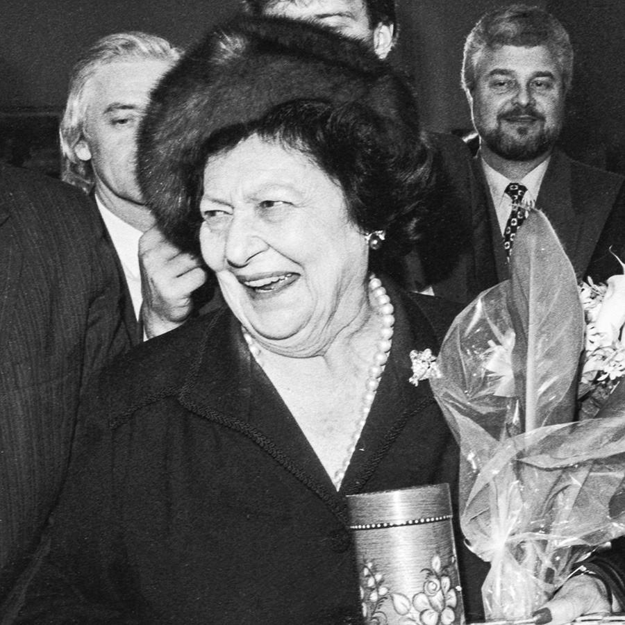 Leonida Gueórguievna Bagration.