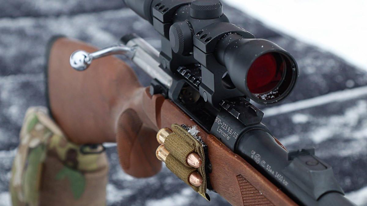 9.6×53ランカスター弾、VPO-223。