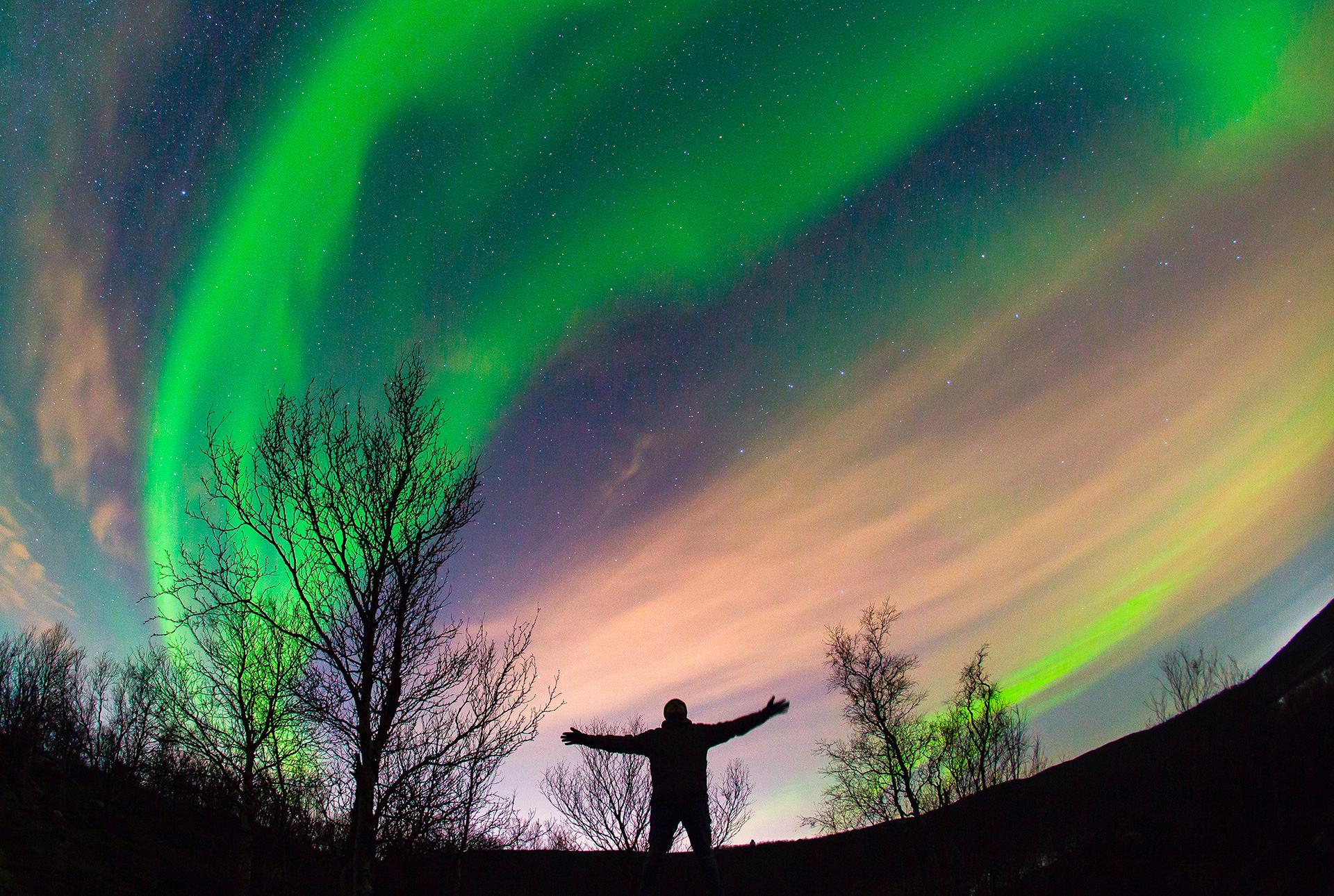 北極圏はロシアの非常に大きな部分を横断している。
