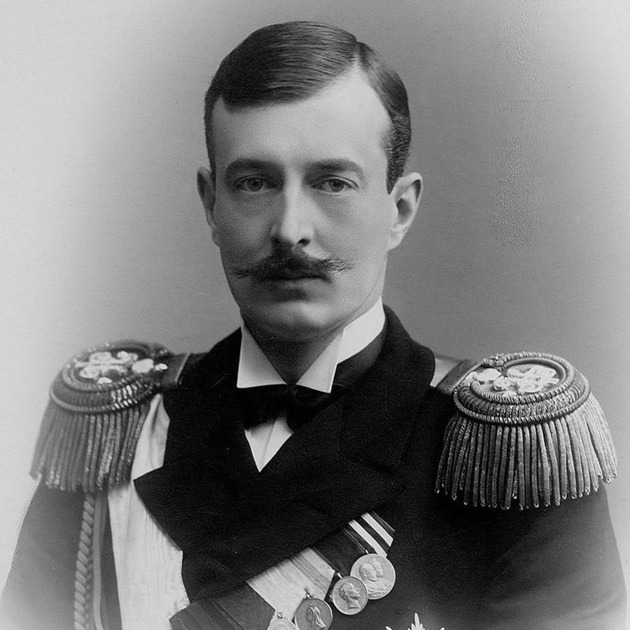 Grão-duque Kiríll Vladímirovitch.