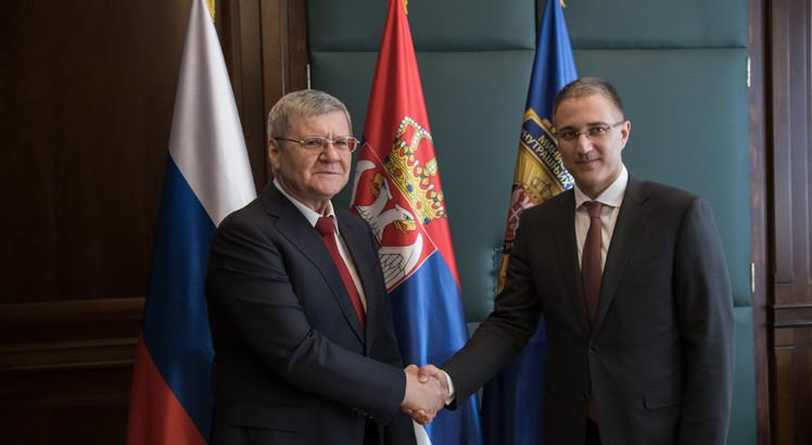 Јуриј Чајка и Небојша Стефановић