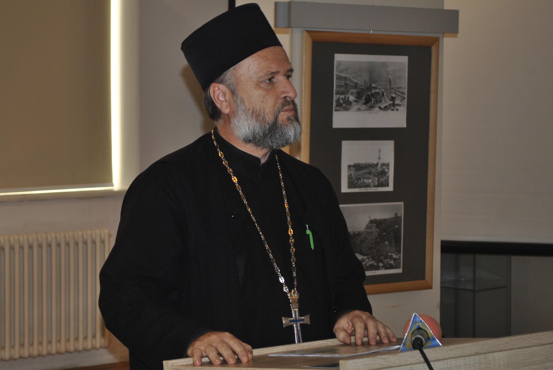 Секретар Епархије крушевачке протојереј ставрофор Драги Вешковац