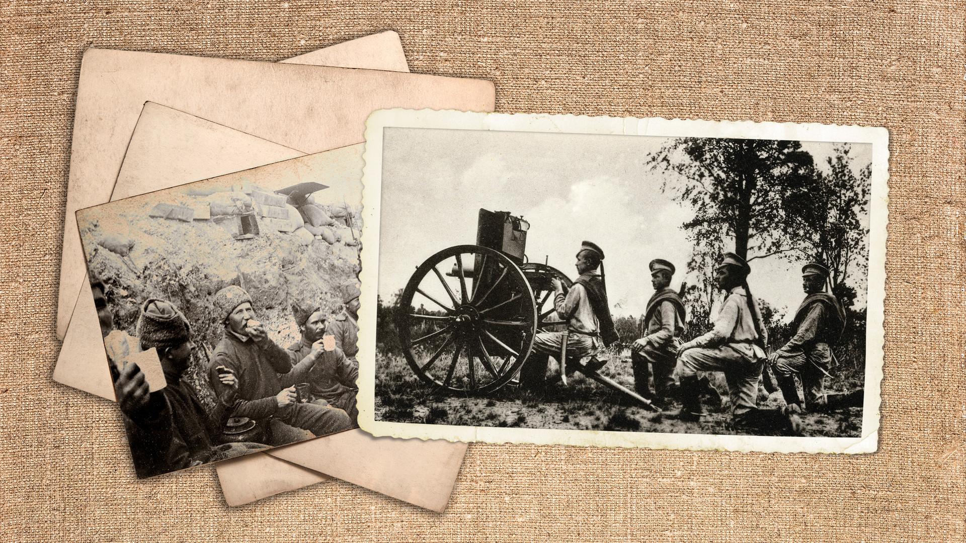 Първата светеовна война: руската пехота, 1916 г.