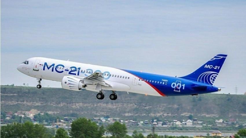MS-21 bo očitno prvi zrakoplov z novimi ruskimi motorji