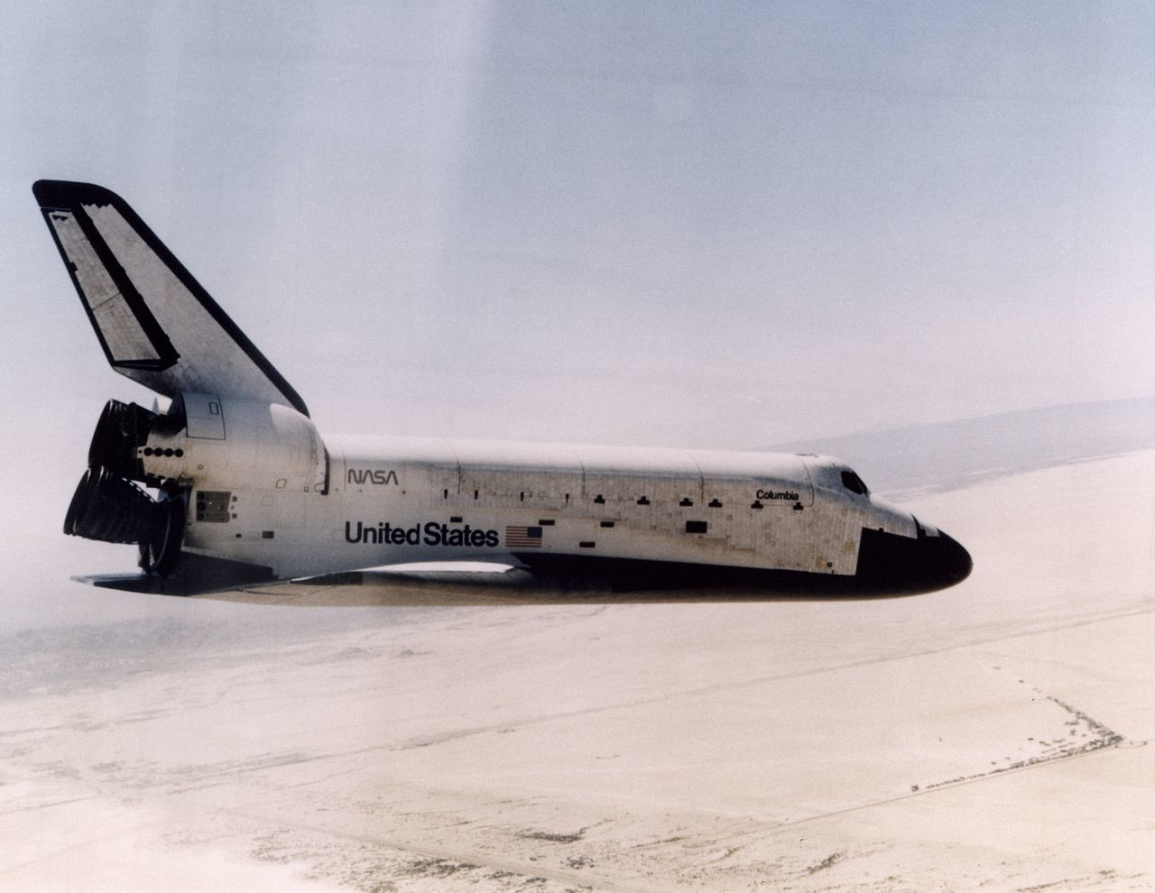 Columbia, STS-1
