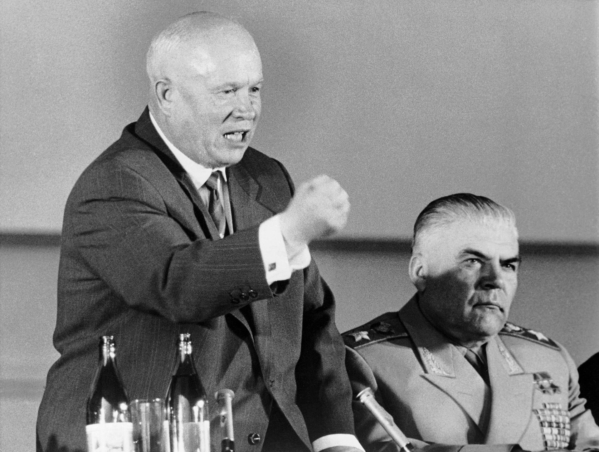 Nikita Khrushchev.