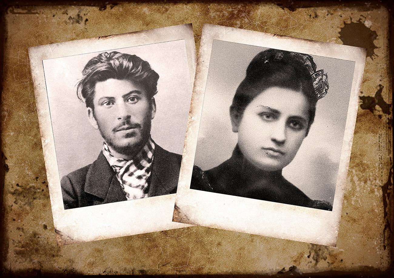 スターリンとエカテリーナ・スワニーゼ