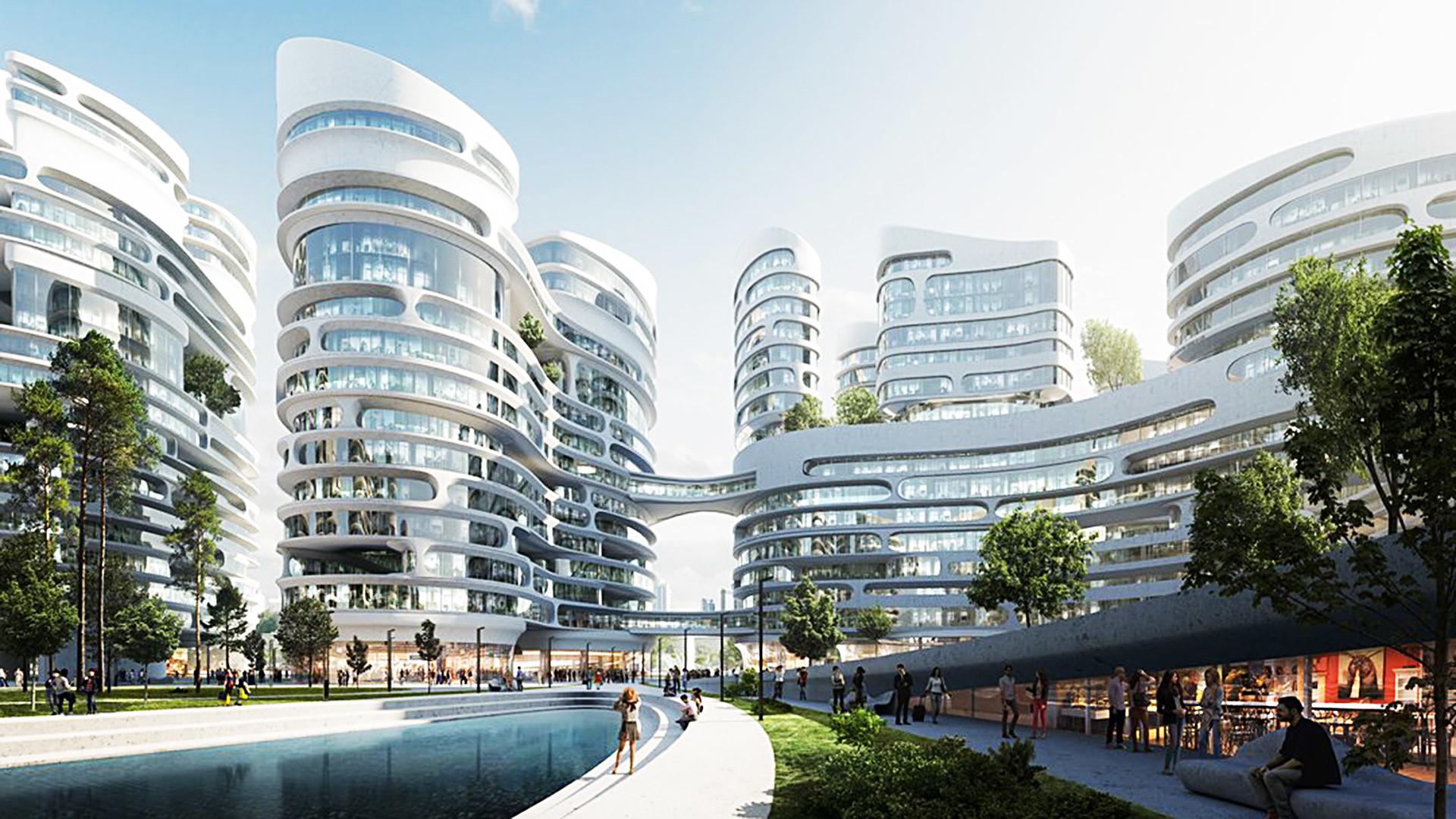 Zaha Hadid Architects To Build A Smart City In Moscow Region