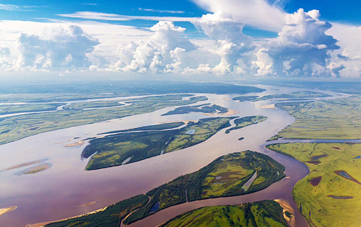 Flüsse In Russland