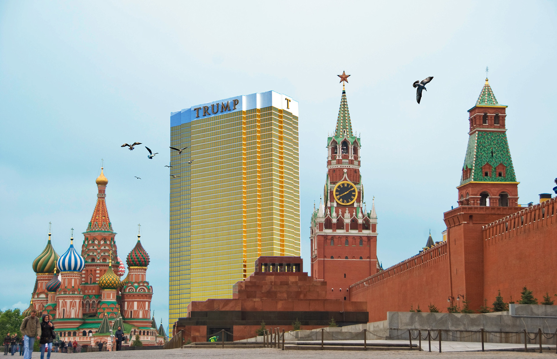 Image result for trump moscow tower