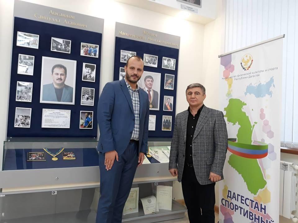 Игор Дамјановић и Магомед - Хасан Абушев