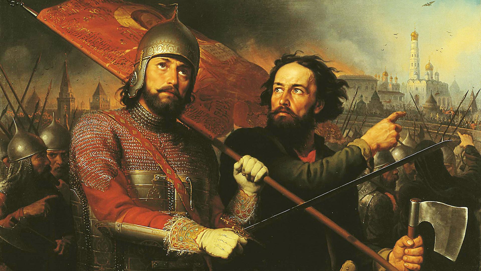 'Kuzma Minin and Dmitriy Pozharskiy'