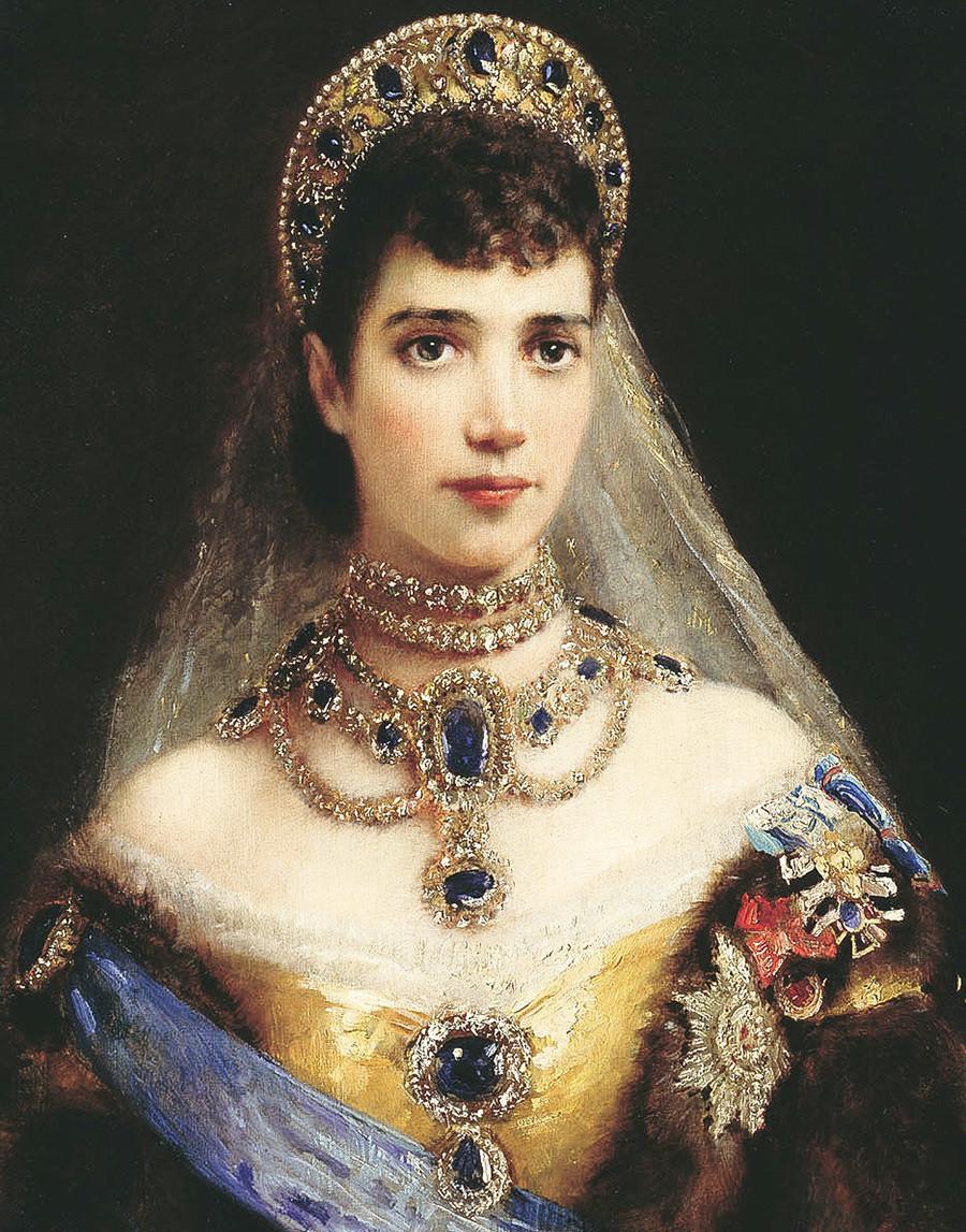 Portrait de Maria Feodorovna