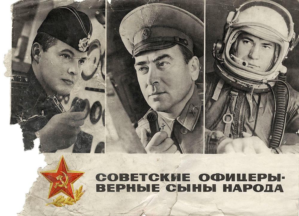 'Oficiais soviéticos são filhos dedicados do povo'