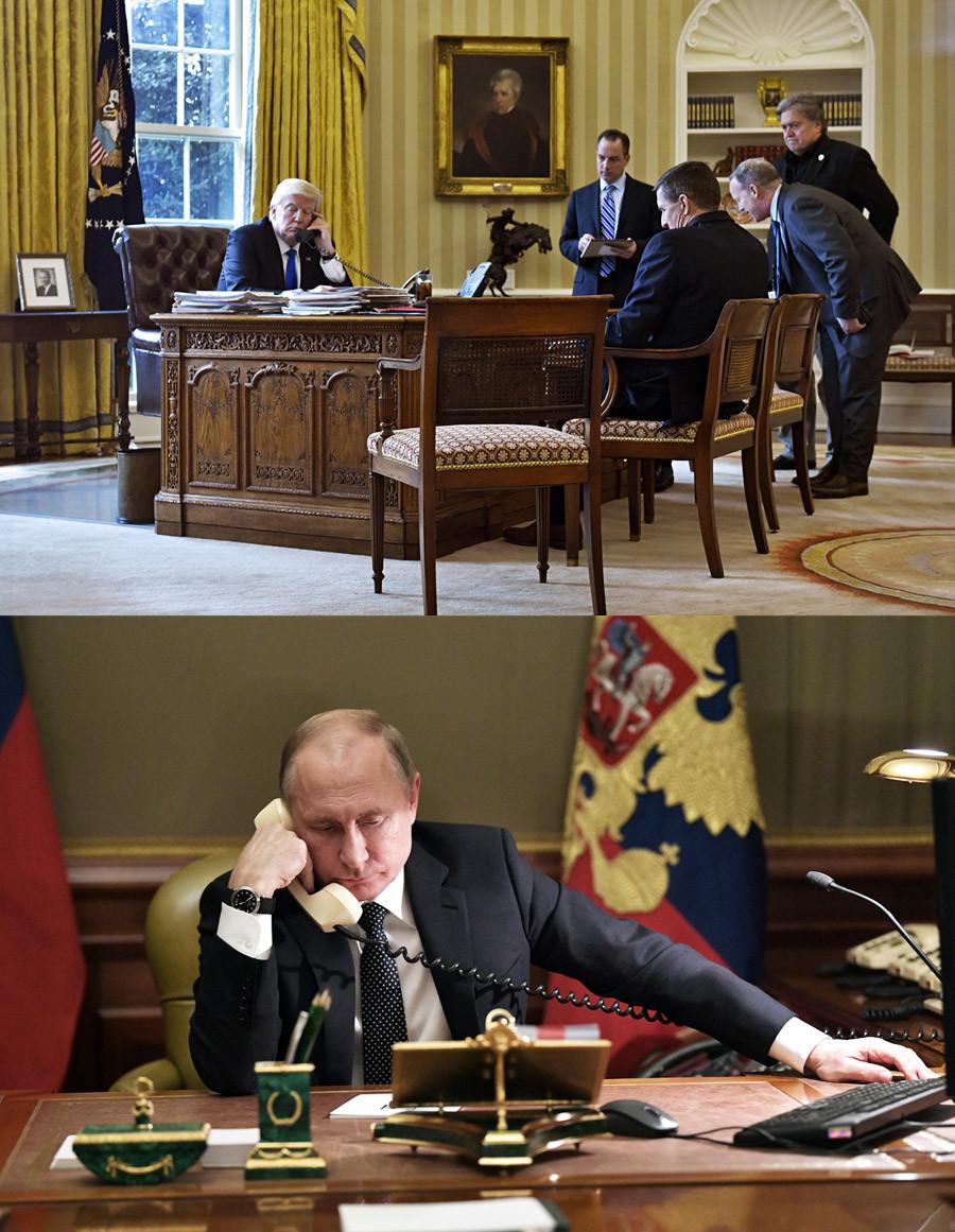 Телефонски разговор со претседателот