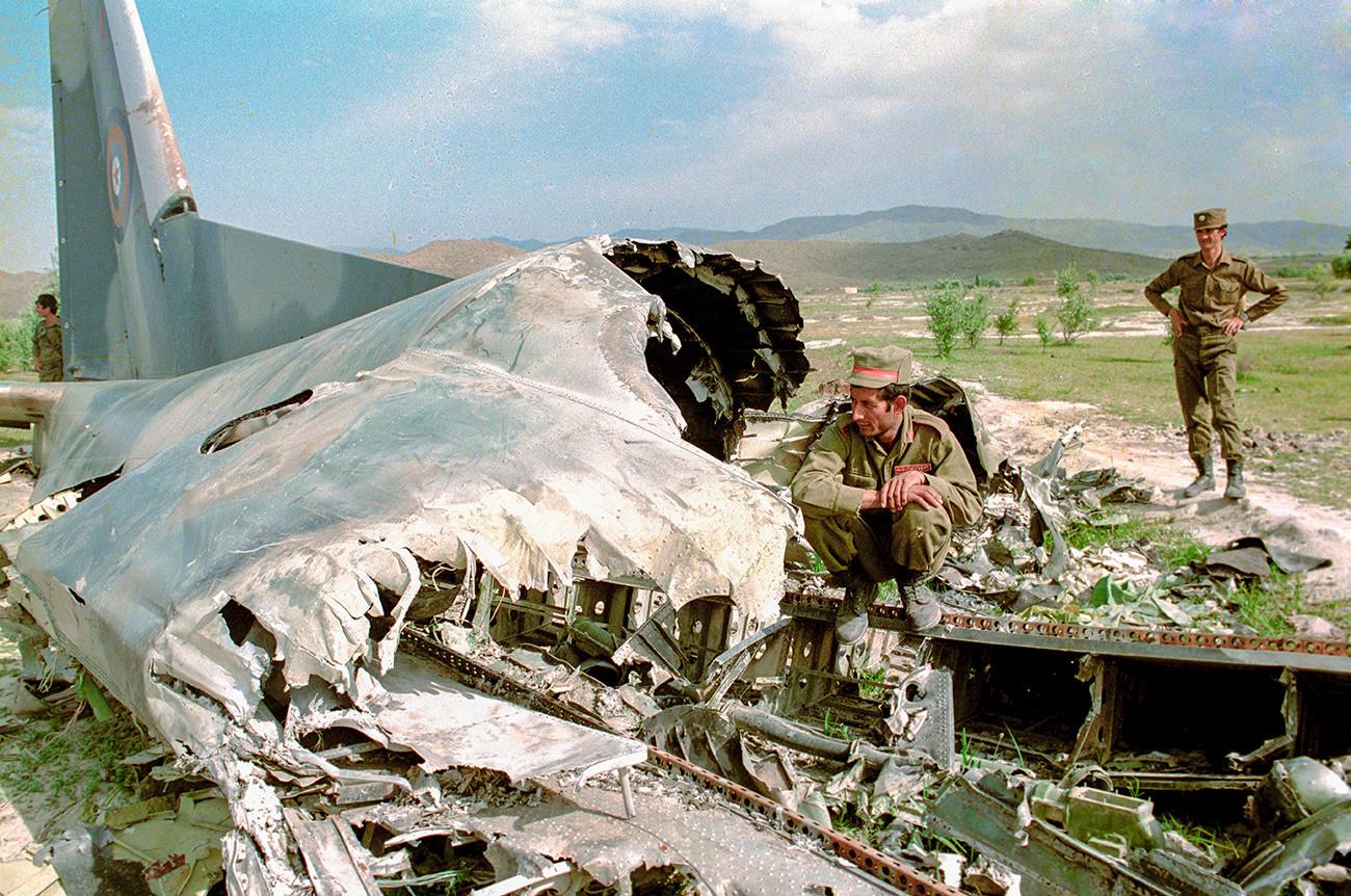 фото сбитых самолетов в афганистане этого