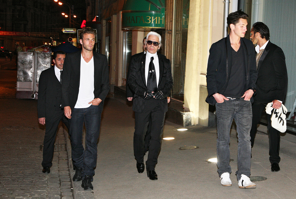 What Karl Lagerfeld thought about Russian men and women ...