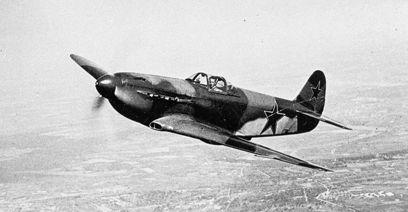 """""""Јак-3"""", најлакши ловац са највећим маневарским  могћностима у ваздушним окршајима током Другог светског рата."""