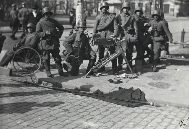 Немачки војници у Хелсинкију.