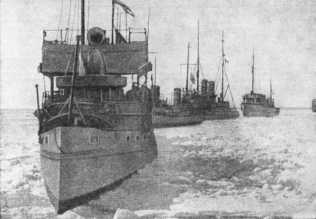 Ледени поход бродова Балтичке флоте, Март - април 1918.