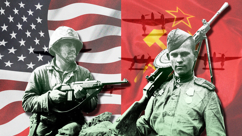 Mengapa Soviet Dan Amerika Saling Bertarung Pada Perang Dunia Ii Meski Bersekutu Russia Beyond